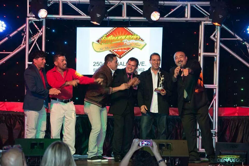 Pablo Antonio y La Firma - Award